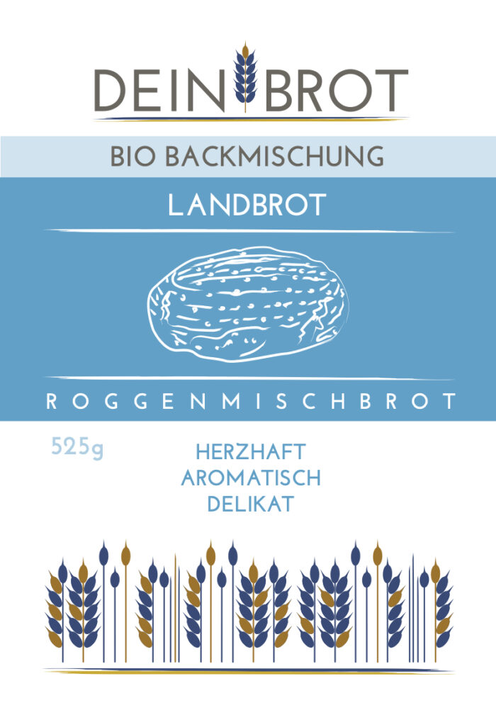 Landbrot - Roggenmischbrot